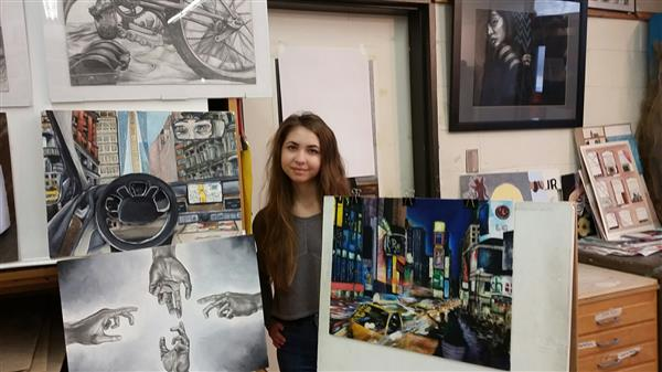 Herricks HS Senior Named Nassau County Art Award Winner