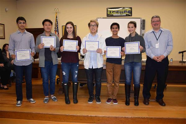 Board of Education Honors Student Accomplishments