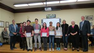 Student Achievements Applauded at Herricks Board of Ed. Meeting