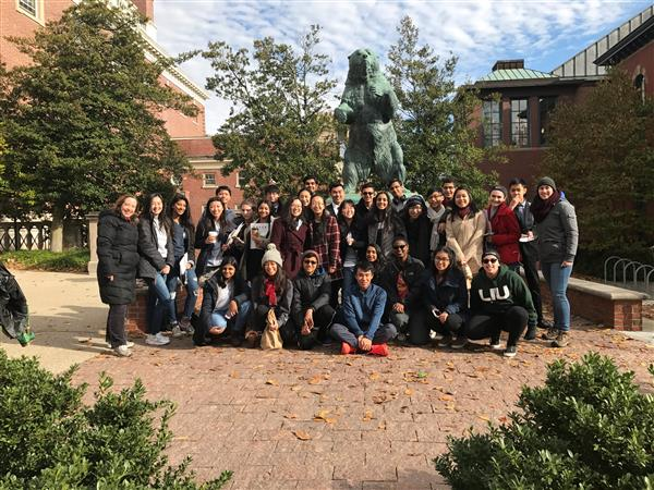 Herricks Students Participate in the Brown University Simulation of the United Nations!