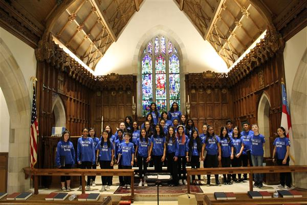 MS & HS Perform at St. John's Episcopal Church of Lattingtown