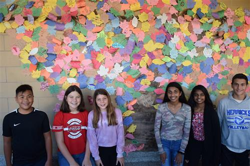 Positive Messages Grow at Herricks Middle School