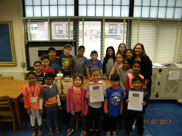 Denton Avenue Students Make a Difference