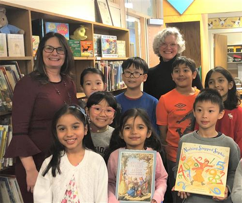 Guest Author Visits Denton for PARP Week