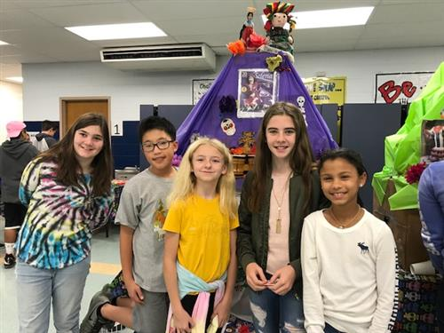 Language Immersion Students Honor Día de los Muertos