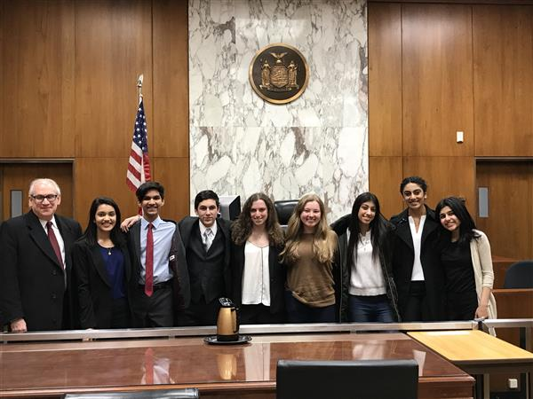 Herricks HS Mock Trial Team Concludes Successful Season