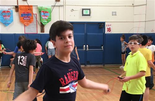 Searingtown Jumps Rope for Heart