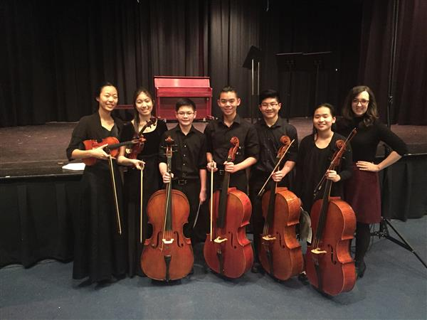 Eleven Herricks students participate in LISFA Chamber Music Festival