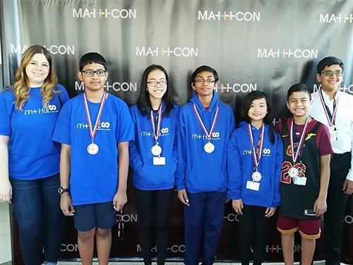 Herricks Wins More Math Medals