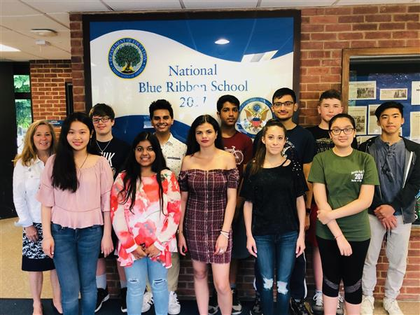 Herricks HS Recognizes May Students of the Month