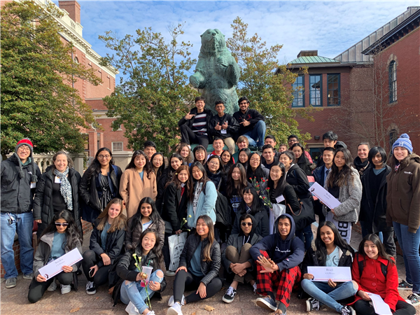 Herricks Model United Nations Team Attends Brown University UN Conference