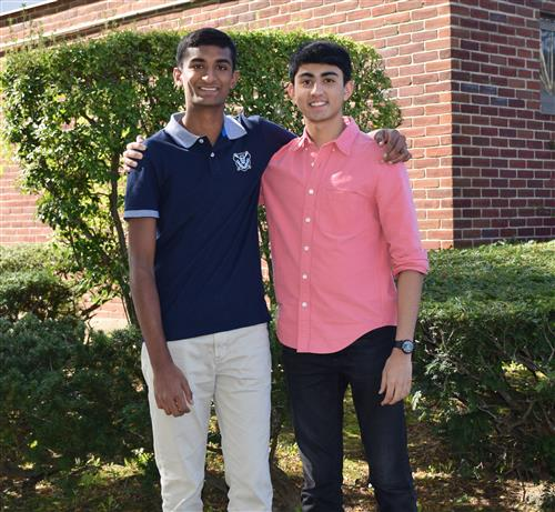 Herricks Valedictorian and Salutatorian Secure National Merit Scholarships