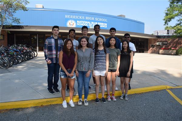 Herricks High School congratulates National Merit Semifinalists