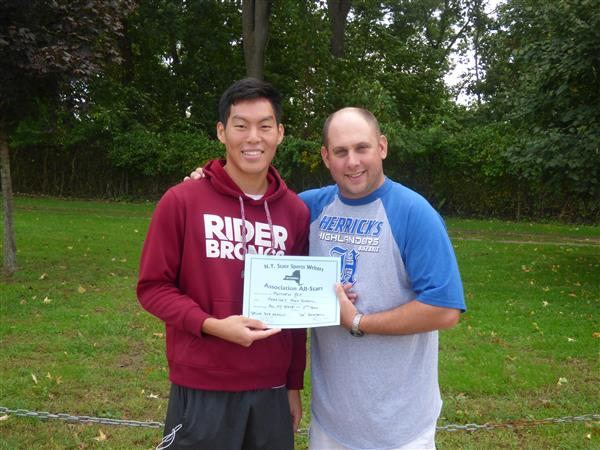 Matthew Yip Voted All State - 2nd Team by the NY State Sportswriters Association