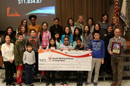 Sixth-graders Raise Money by Reading