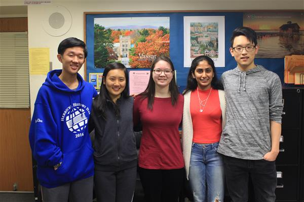 Herricks HS Announces Five Regeneron Scholars