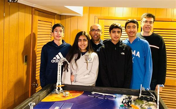 Herricks Rookie Team Wins Award and Advances in Lego Competition