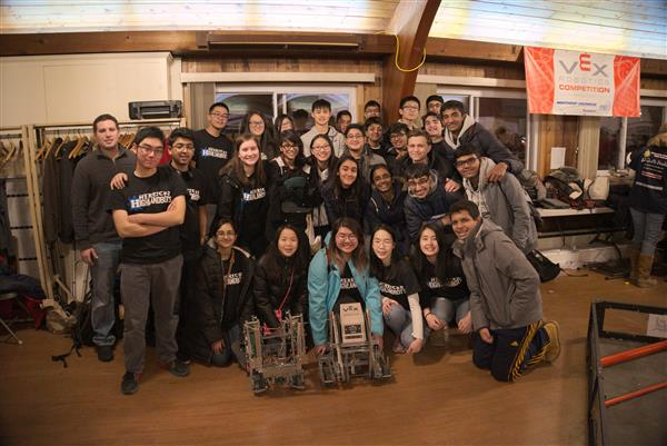 Herricks Robotics Teams Kick Off Competition Season