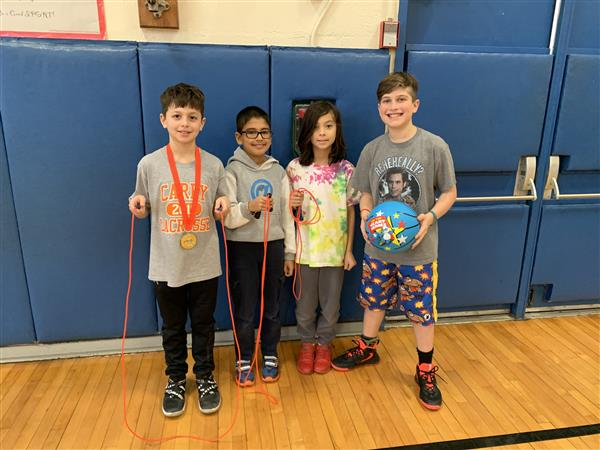 Searingtown School Raises Over $8,000 for the American Heart Association