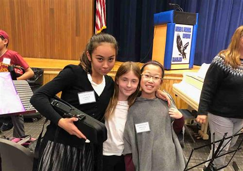Three Searingtown Flutists Perform at Flute Festival
