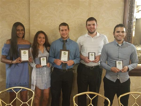 Track and Field Athletes Honored