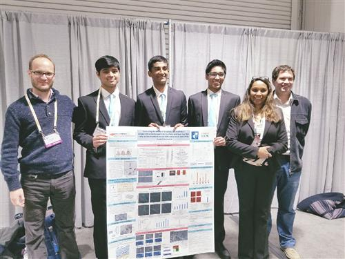 HS Students Win Best Presentation at Renowned Science Conference
