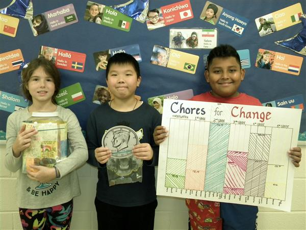 Searingtown School Chores for Change