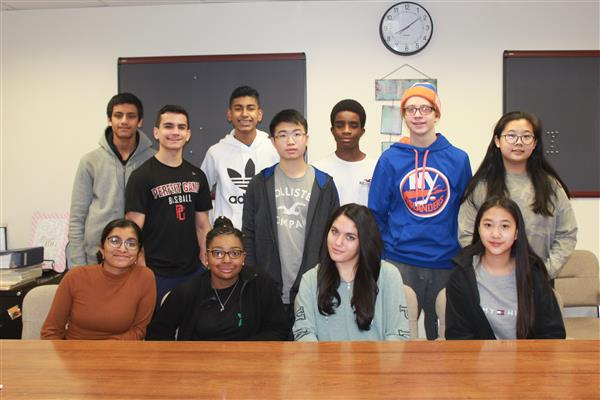 Herricks HS Recognizes December Students of the Month