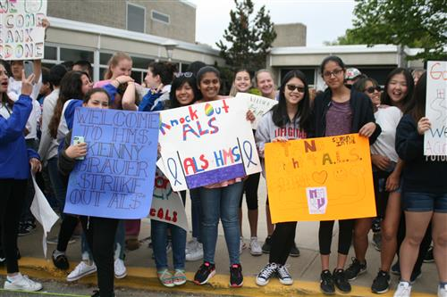 Herricks Middle School Supports Ride for Life