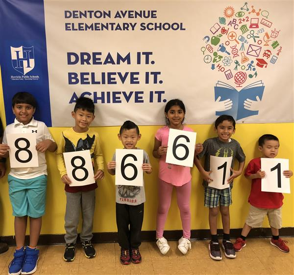 Denton Students Read 886,611 Minutes Over the Summer!