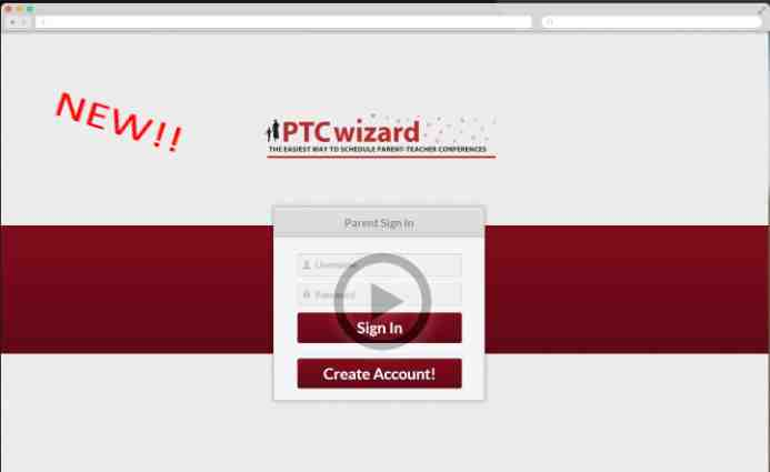 Introducing PTCWizard: Online Parent Teacher Conference Scheduler