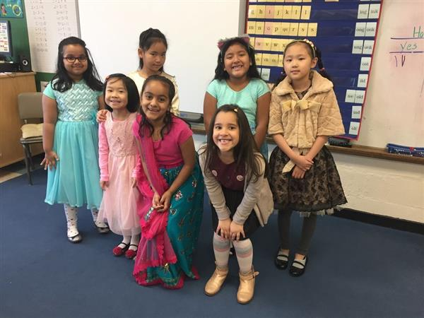 Second Graders Celebrate Heritage
